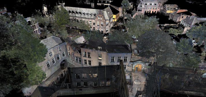 3D Scan Binnendieze en poort Oude Gasthuisstraat