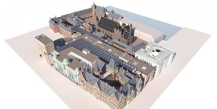 BIM-model Binnenhof