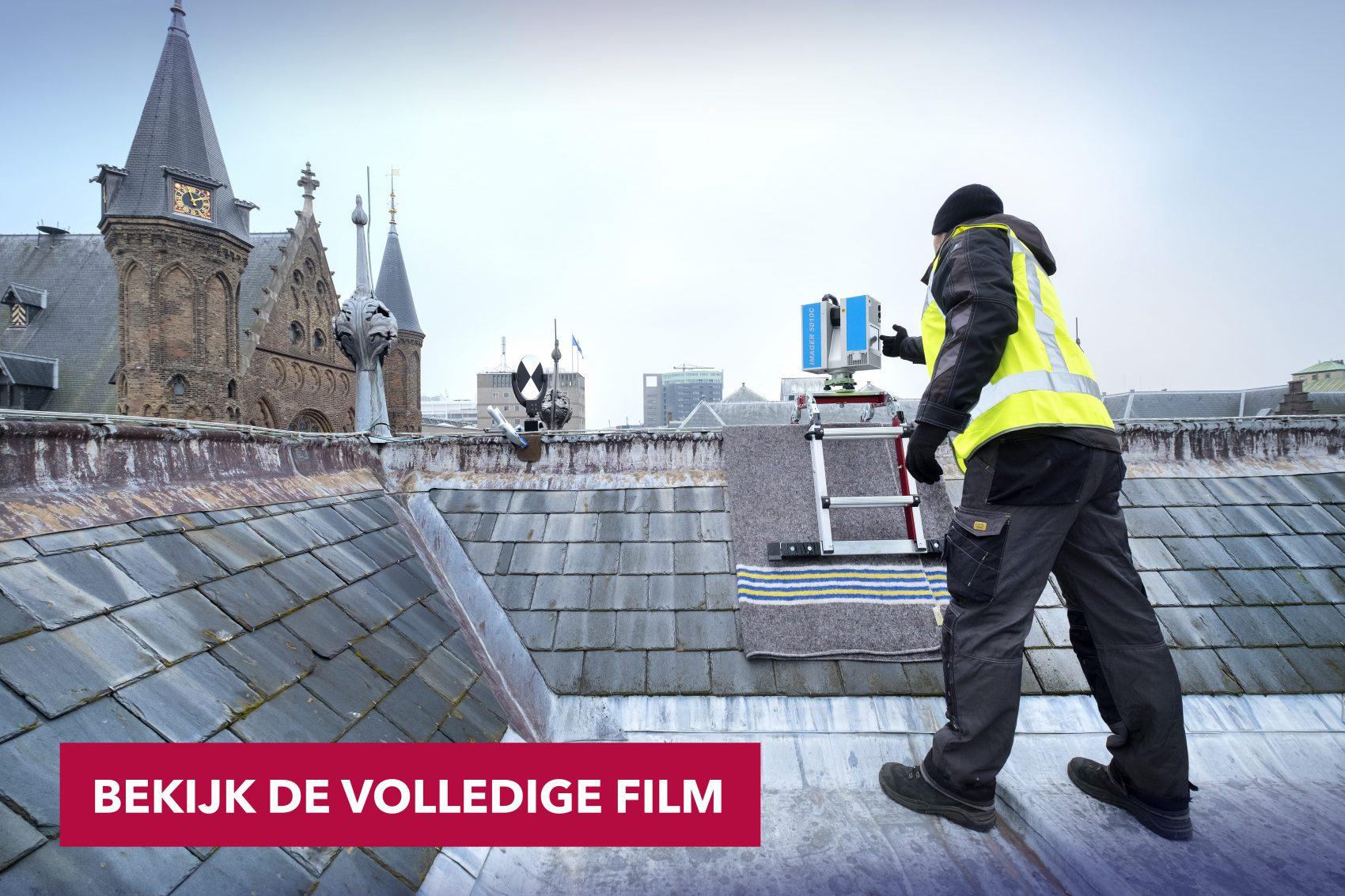 """Filmdocumentaire """"Het Binnenhof volledig 3D in kaart"""""""
