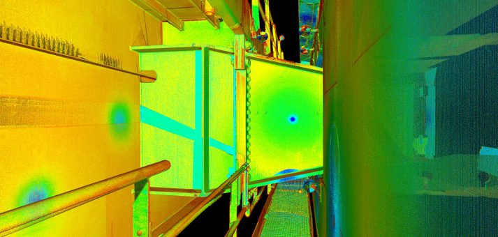 3D detailscan staalconstructie Galecopperbrug