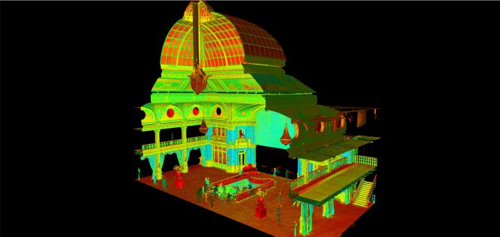 pointcloud Kurhaus