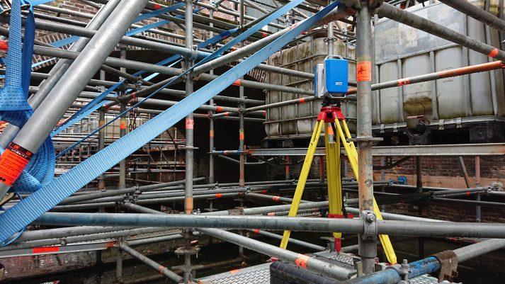 3D scan brug Kromme Nieuwegracht