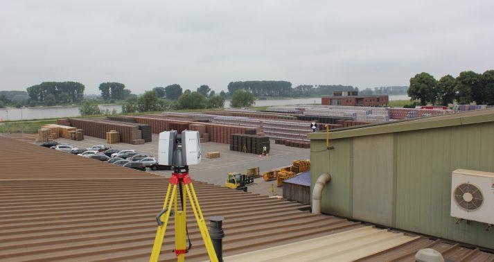 3D scannen van daken