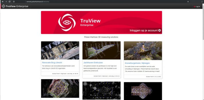 Webbased truview enterprise