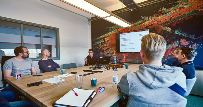 Training werken met pointclouds in Revit bij PelserHartman