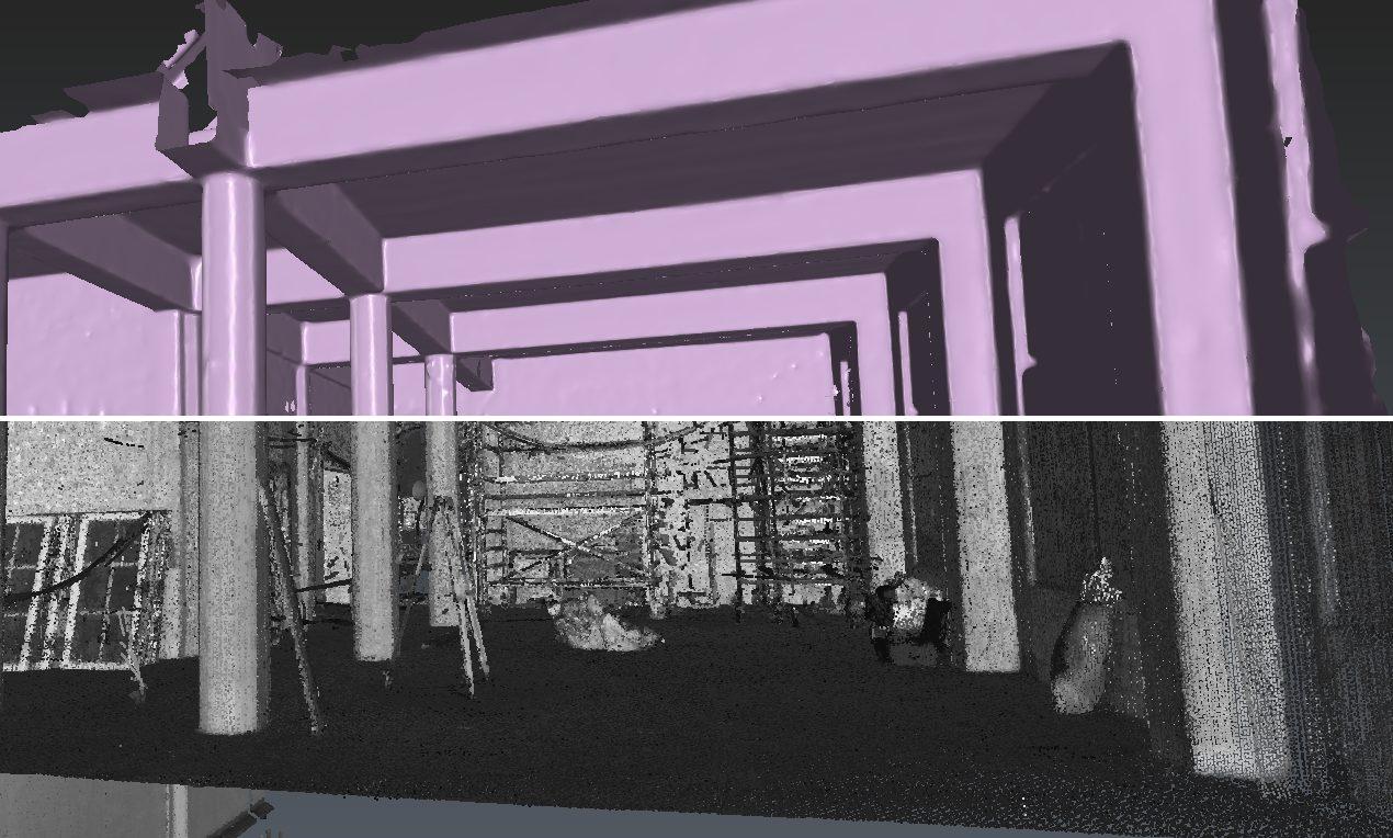 Van pointcloud naar 3D model zonder modelleren