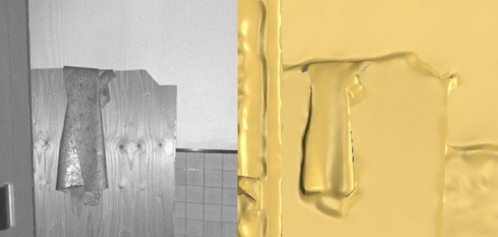 pointcloud naar 3D model mesh zonder modelleren