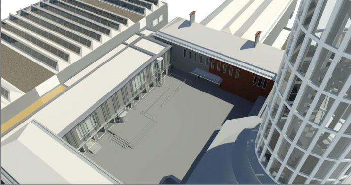 3D Revit model van museum Boijmans van Beuningen