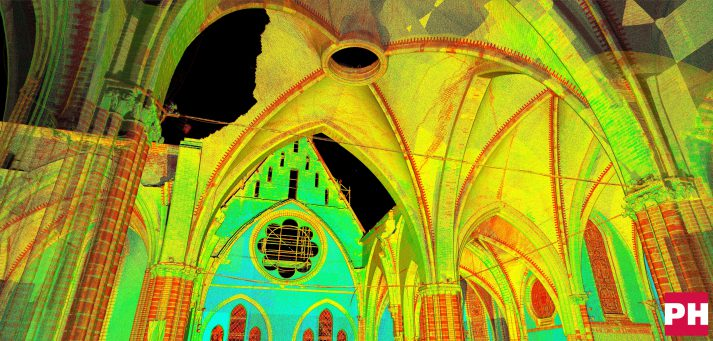 pointcloud 3d scan Urbanuskerk.