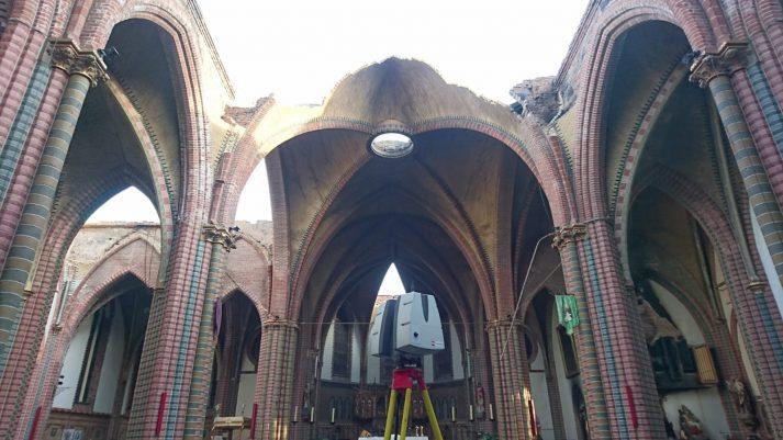 3D scan kerk