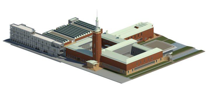 3D model van museum Boijmans van Beuningen