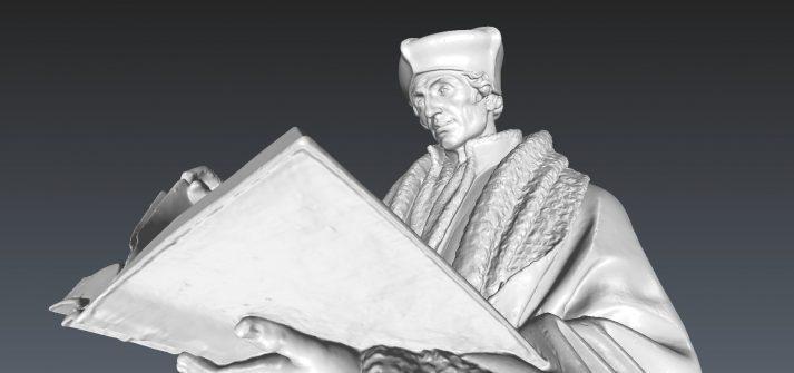 mesh Erasmusbeeld