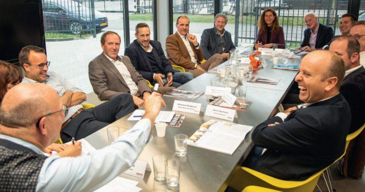Deelnemers Bob debat innovatie