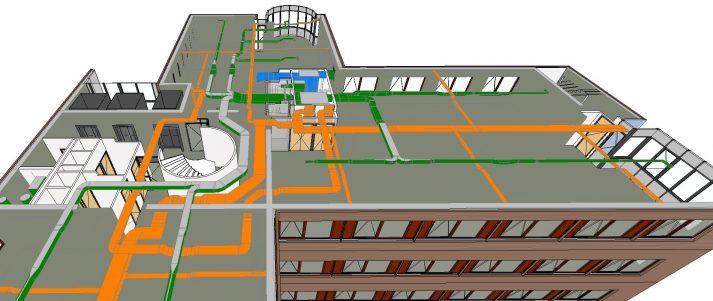 3D digitalisatie vastgoed model
