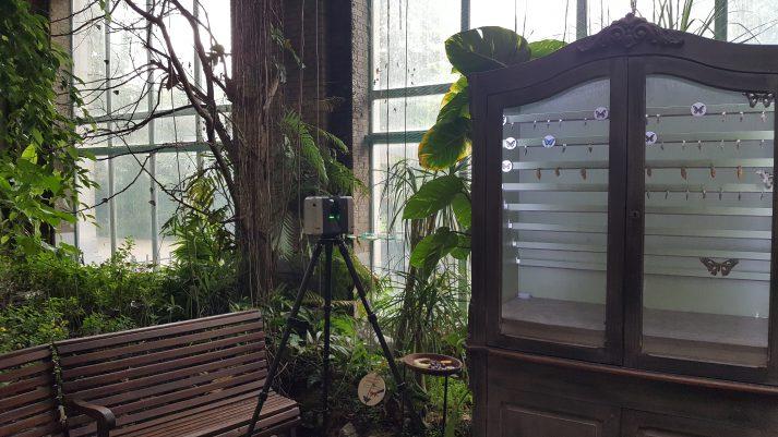 3D scannen erfgoed Wintertuin