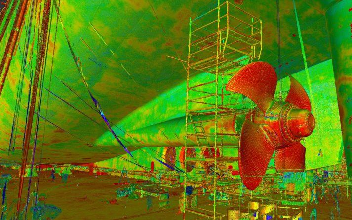 pointcloud 3D inmeten boten