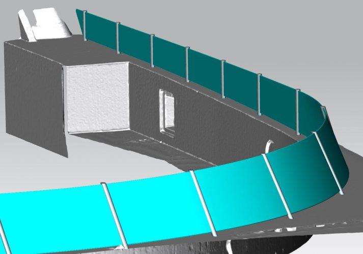 Van pointcloud naar mesh voor engineering in Siemens NX.