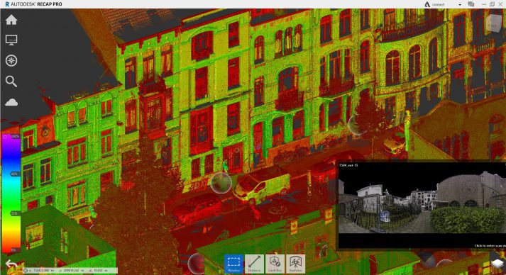 Point cloud in ReCap