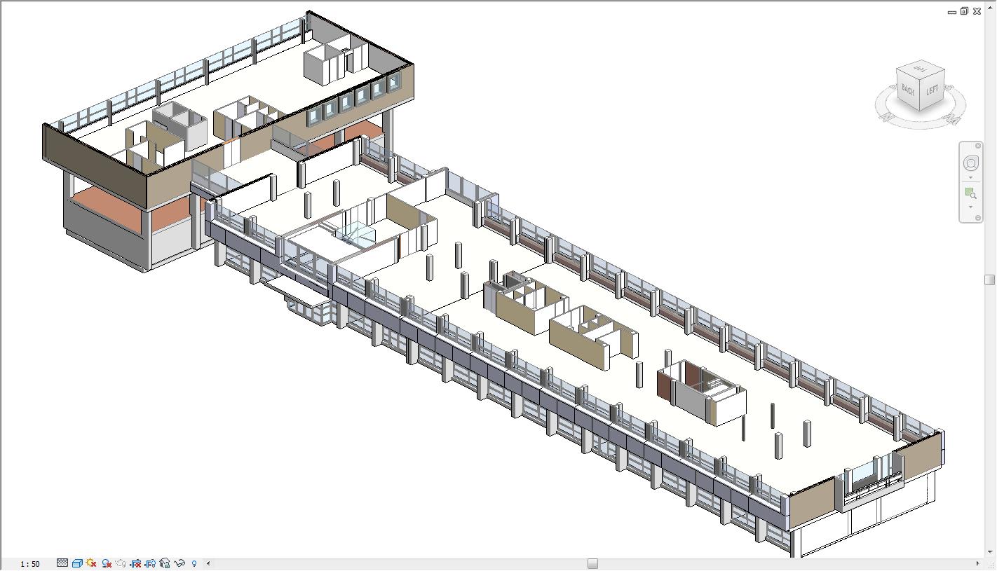 Een 3D model of BIM is meestal een schematisering van de werkelijkheid