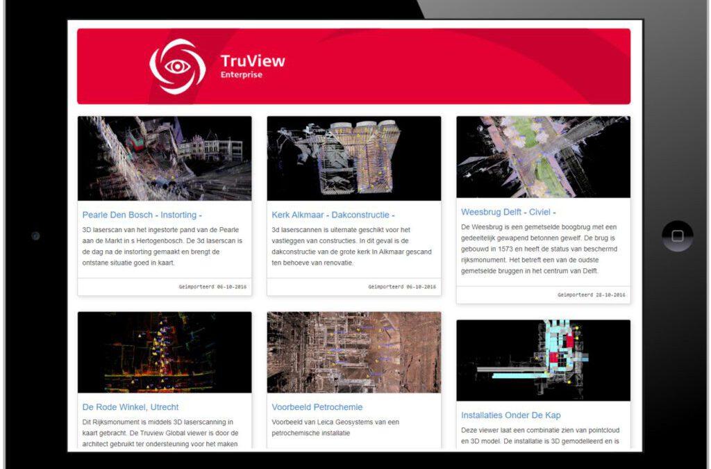 Serieuze pointcloudviewers voor klanten en partners