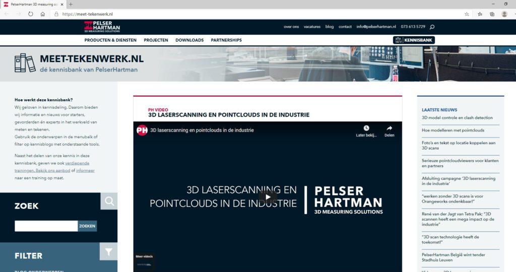 Online kennisbank meet-tekenwerk.nl is vernieuwd