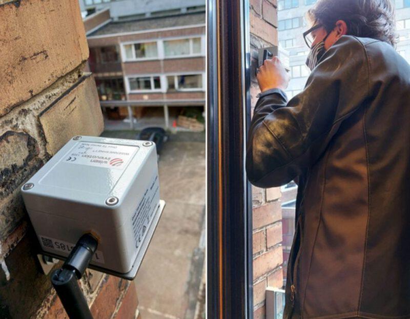 installatie van inclinometers