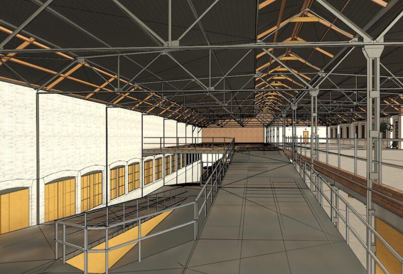 PelserHartman maakt in opdracht van OMA een pointcloud en BIM model van de voormalige garage op het VDMA terrein Eindhoven