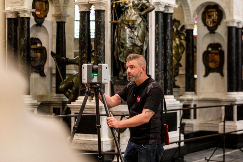 3D laserscanning monument